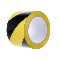 Stairville Warning Tape Black/Yellow 75