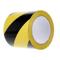 Stairville Warning Tape Black/Yellow 100