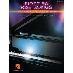 Hal Leonard First 50 R&B Songs Piano