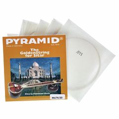 Pyramid M674/20 Medium Sitar Strings
