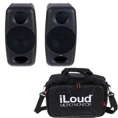 IK Multimedia iLoud Micro Monitor Bag Bundle