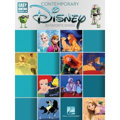 Hal Leonard Contemporary Disney: Easy Guit