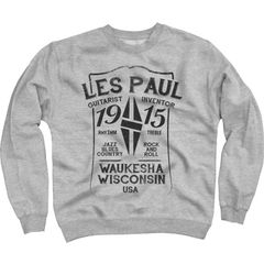 Les Paul Merchandise Sweat Shirt Les Paul 1915 M