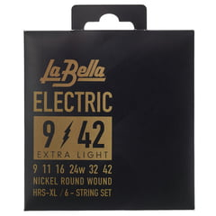 La Bella HRS-XL El. Guitar RWNP