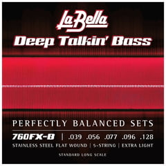 La Bella 760FX-B DT'Bass Flats