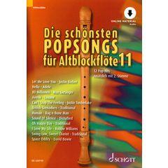 Schott Die Schönsten Popsongs Vol.11