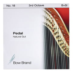 Bow Brand Pedal Natural Gut 3rd B No.18