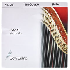 Bow Brand Pedal Natural Gut 4th F No.28