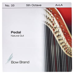 Bow Brand Pedal Natural Gut 5th A No.33