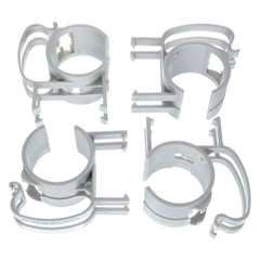 Stairville Snap silver 4 pcs