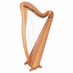 Thomann Roundback Harp Beechwood 34