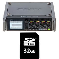 Zoom F4 Card Bundle