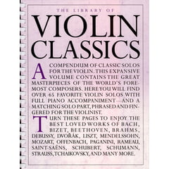 Music Sales The Library Of Violin Classics