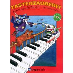 Mitropa Music Tastenzauberei 3+CD