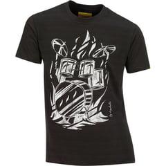 Xam Schrock T-Shirt Drumhead L