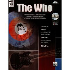 Alfred Music Publishing Guitar Play-Along The Who