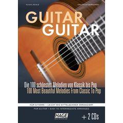 Hage Musikverlag Guitar Guitar +CD