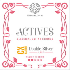 Knobloch Strings Double Silver Carbon CX 300ADC