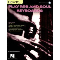 Hal Leonard How To Play R&B Soul Keyboards