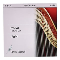 Bow Brand Pedal Nat. Gut 1st B No.4 L