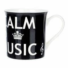 Music Sales Mug Keep Calm & Play Music