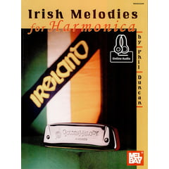 Mel Bay Irish Melodies For Harmonica