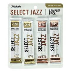 DAddario Woodwinds Select Jazz Bari Sampler Pck 2