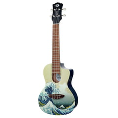 Luna Guitars Ukulele Great Wave Concert