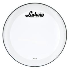 "Ludwig 22"" Bass Drum Head Vint. Logo"