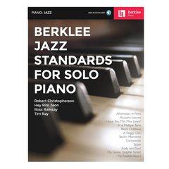 Berklee Press Jazz Standards For Solo Piano