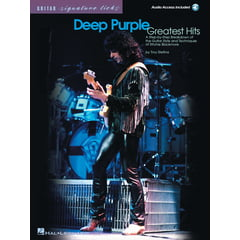 Hal Leonard Deep Purple Greatest Hits
