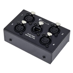 Stairville RJ45 DMX Split Box FX4-5pin