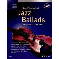 Schott Jazz Ballads Violin
