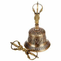 Thomann Tibetan Brass Bell 21cm