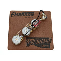 Emerson Custom J-Bass 250K Prewired Kit