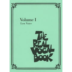Hal Leonard Real Vocal Book (Low) Vol.1