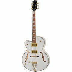 Harley Benton BigTone LH White Vintage Serie