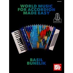 Mel Bay World Music For Accordion
