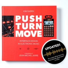 PUSH TURN MOVE the book