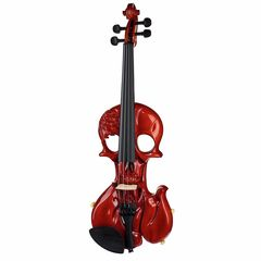 Harley Benton HBV 450 The Skull Violin 4-Str