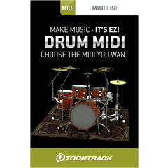 Toontrack Drum Midi Pack