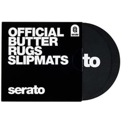 "Serato 7""Butter Rugs Slipmat black"