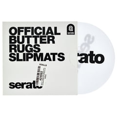 "Serato 7""Butter Rugs Slipmat white"