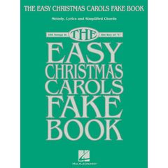 Hal Leonard The Easy Christmas Carols Fake