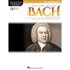 Hal Leonard The Very Best Of Bach Clarinet