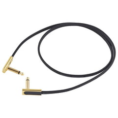 Rockboard Flat Patch Cable Gold 80 cm