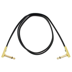 Rockboard Flat Patch Cable Gold 100 cm