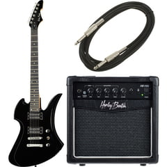 Harley Benton MB-20BK Rock Series Bundle