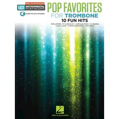 Hal Leonard Easy Pop Favorites Trombone