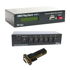 Enttec DMX Playback Mk2 Bundle